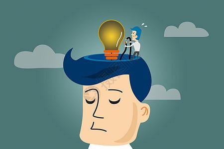 思考灵感创意图片