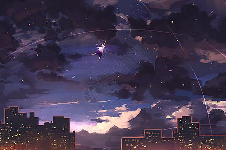 永夜插画picture