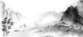 山水古风图片