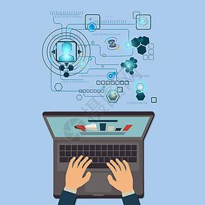 电脑科技图片
