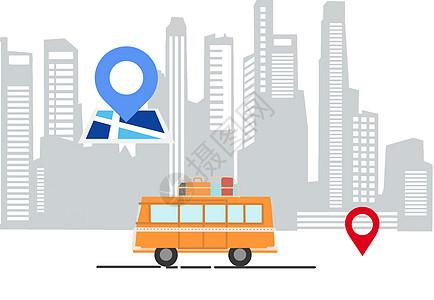城市交通信号图片