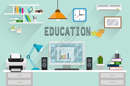 教育的工作台图片
