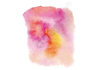 手绘水彩墨迹背景图片