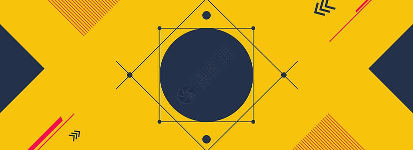 几何海报背景图片