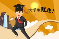 大学生就业图片