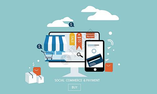 商务互联网在线支付图片
