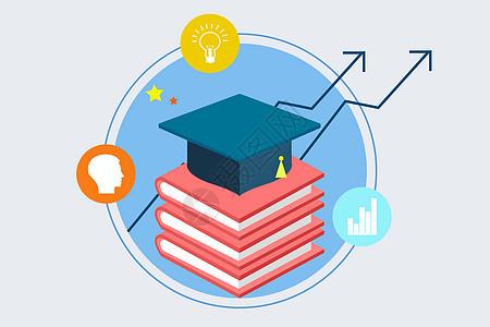 教育知识的提升素材图片