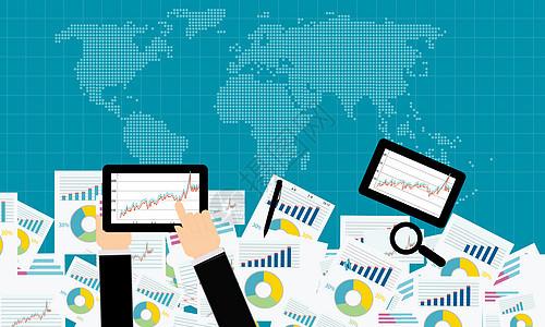 商业统计现代化方式图片