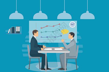 讨论营销会议图片