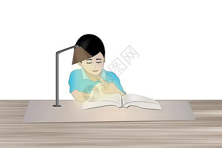 学习卡通插画图图片