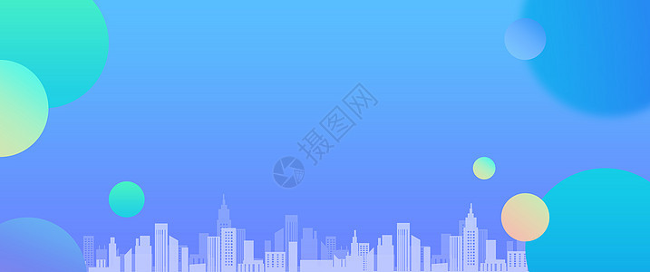 科技城市背景图片