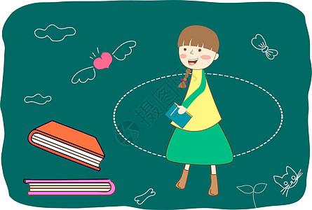 卡通教育可爱图片图片