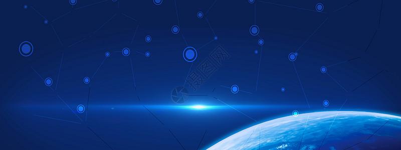 全球定位科技背景图片