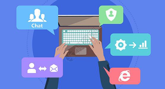 互联网社交资讯图片