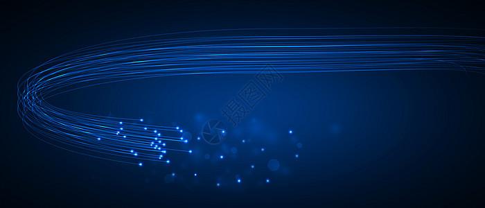 光纤科技背景图片