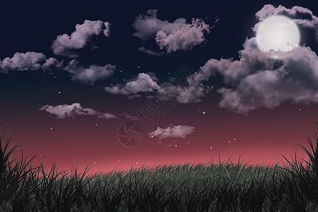 夜空背景图片下载图片