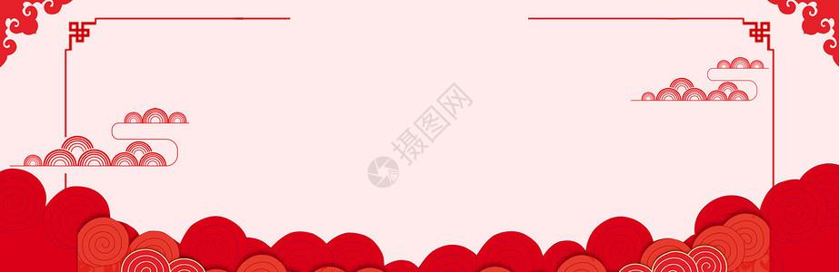 喜庆中国风背景banner图片