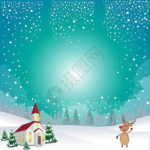 冬天景色图片