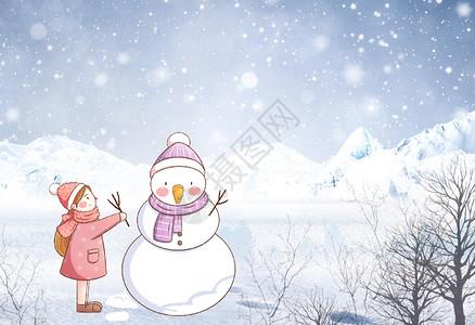 冬季郊外雪景图片