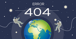 404页面错误插画图片