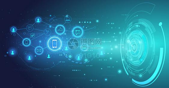 数字化科技背景图片