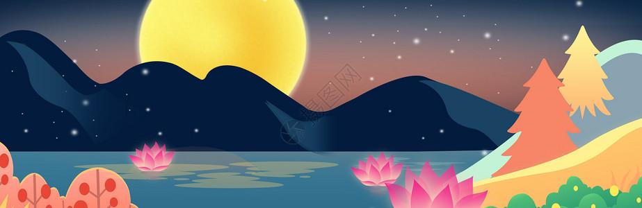 中秋节背景图图片