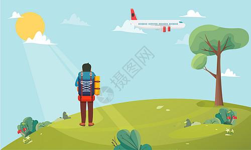 旅行背景图片