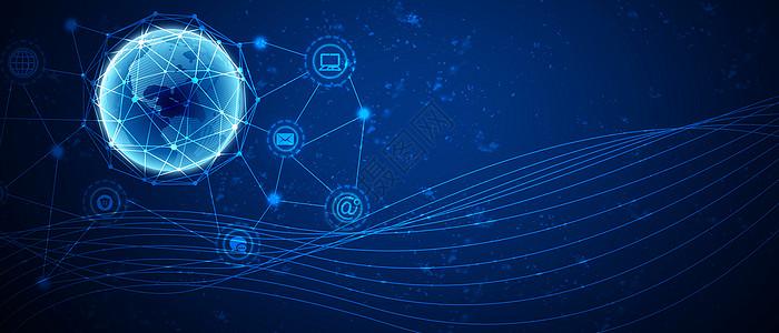 互联网通讯科技背景图片