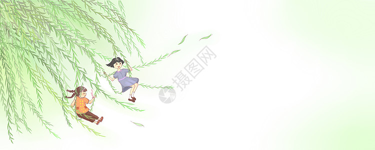 儿童插画图片
