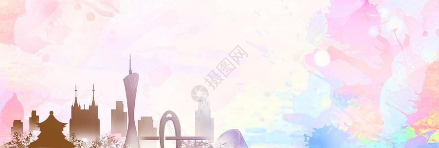 中国经典建筑背景图图片
