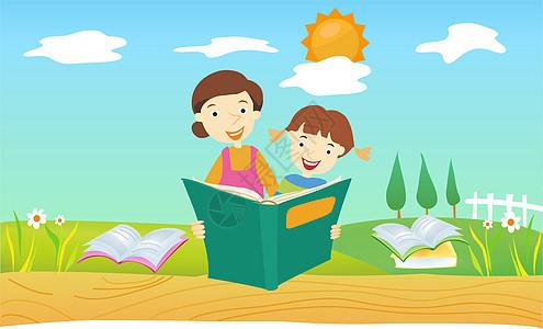 幼儿教育插画图片