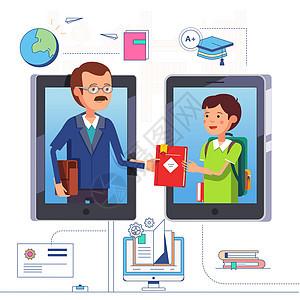 网络在线教育图片
