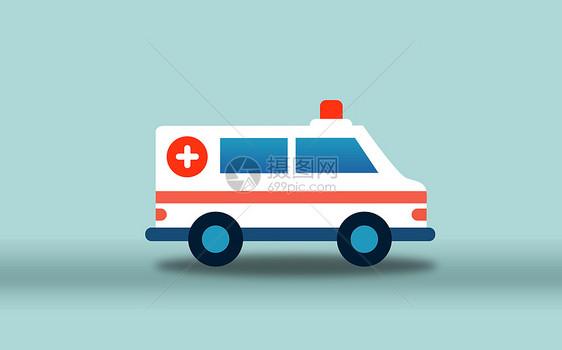 医疗救护车图片