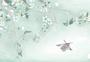手绘中国风水墨梨花图片
