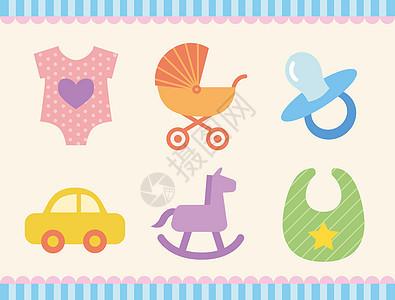 婴儿用品图标图片
