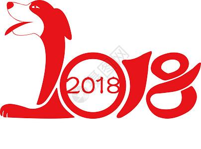 2018狗年吉祥图片