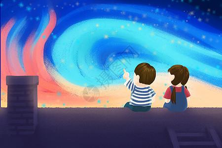 浪漫星空下的约定图片