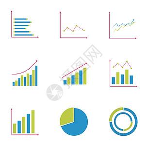 数据统计矢量图图片