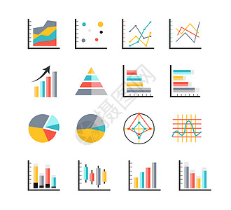 商务数据图形分析素材图片
