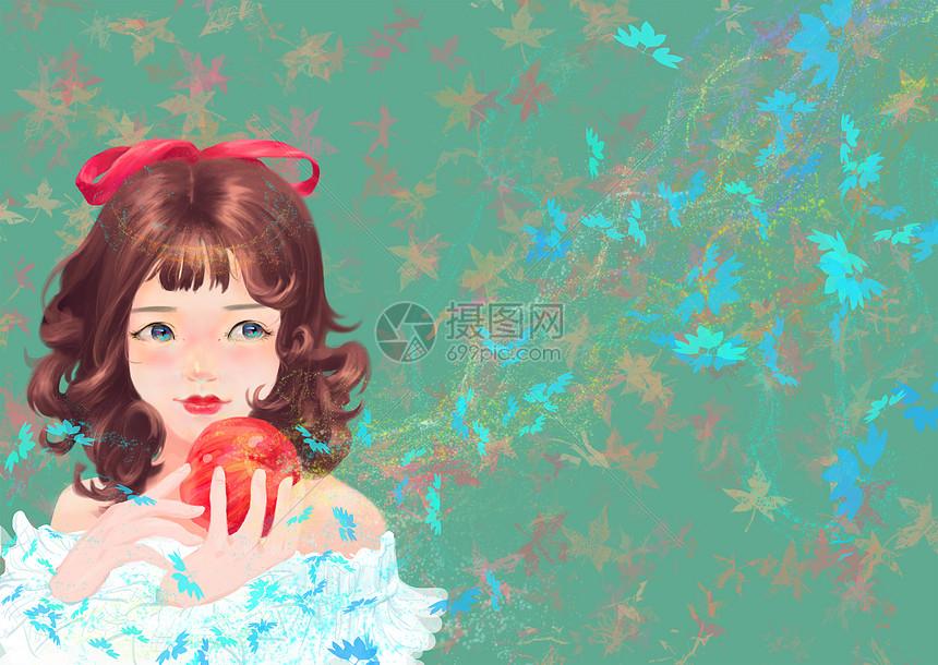 美丽的小女孩图片