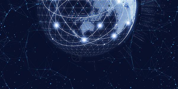 全球化科技背景图片