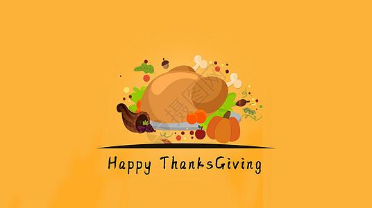 感恩节背景图图片
