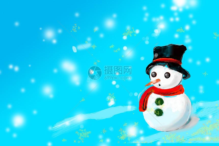 节日假日 手绘雪人圣诞节节气素材源文件psd  分享: qq好友 微信朋友