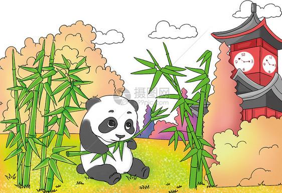 成都熊猫图片