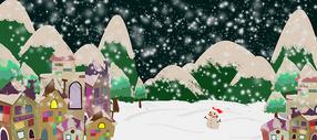 手绘圣诞节图片