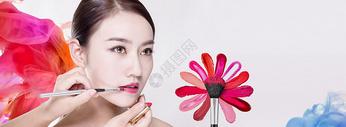 彩妆海报图片