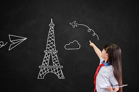 小学生出国留学图片
