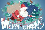 圣诞节插画400069524图片