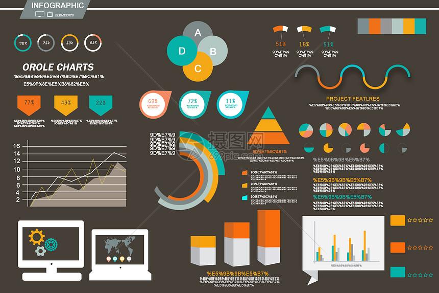 统计数据图图片