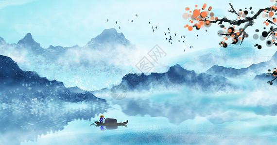 山手绘图片